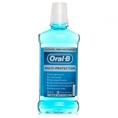 Oral B Anti Plaque Alcohol Free Mouth Rinse 500ml