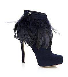 Nicholas Kirkwood, Feather Ankle Boot.