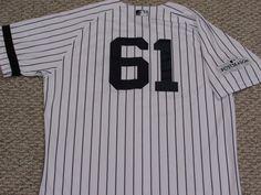 0adfb37b3b6 HELLER  61 sz 46 2017 Yankees Game used Jersey HOME BLACK BAND POST STEINER  MLB