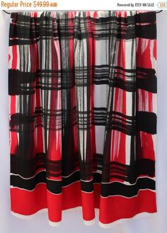 Batik beach sarong, cotton pareo, Thai fabric, wrap, home decor, fabric, home decor, artisan, designer, handpainted, handmade, Thailand RED BLACK GREY plaid  Stunning (wax resist) hands-drawn batik beach sarong pareo / fabric length from Chumphon, southern Thailand  ✻ Individual – the allure of handmade and exclusive!! Stunning wearable art… ✻ Versatile, add this piece to your wardrobe as an eye-catching sarong / pareo / beach-wrap, casual neck tied dress, skirt and so on, or ...