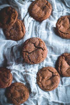 Cardamom Ginger-Molasses Cookies