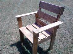 DIY Pallet Chair | Pallet Furniture DIY