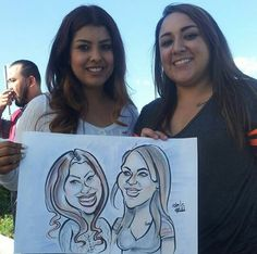 Caricatures for parties