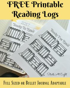 FREE Printable Reading Logs from Starts At Eight. Looking for a cute printable book log? These FREE Printable Book Logs can be printed as a full page for kids or adjusted for your bullet journal. Reading Logs, Kids Reading, Reading Skills, Teaching Reading, Reading Workshop, Reading Wall, Guided Reading, 40 Book Challenge, Reading Challenge