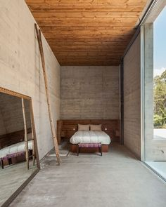 House in Portugal Uses Steep Slope to Its Advantage