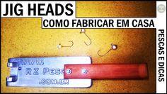 Como Fabricar Jig Head  em Casa [Pescas e Dicas]