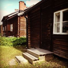 """""""Bonnstan"""" in Skellefteå Sweden. One of the best-preserved old church towns. Cute Cottage, Lappland, The Beautiful Country, Faroe Islands, Small Houses, Homeland, Finland, Cottages, Denmark"""