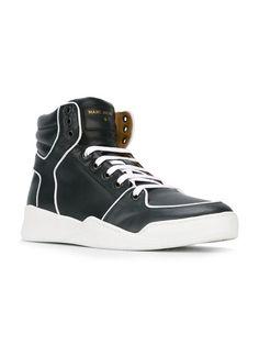Marc Jacobs contrasting trim hi-top sneakers