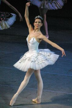Viktoria Tereshkina (Principal, Mariinsky Ballet) --she danced Odette when we saw their Swan Lake in London