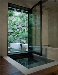 15 Inspiring Indoor/Outdoor Bathrooms                                                                                                                                                                                 More