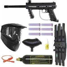 Tippmann 98 Custom PS Ultra Paintball Marker MEGA Gun Set. Available at UltimatePaintball.com