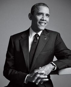 My obsession, Barack Obama. Sorry Michelle O.