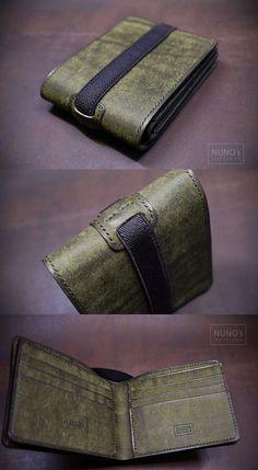 leather wallet - NUNO's workroom.