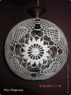 Ball Decorations, Christmas Decorations, Holiday Decor, Filet Crochet, Hand Crochet, Crochet Ball, Sampler Quilts, Crochet Decoration, Christmas Crochet Patterns