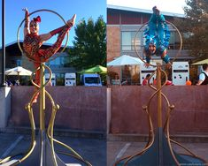 Freestanding Gold Lollipop Lyra + Aerialists by Catalyst Arts Entertainment SF Character Costumes, Arts And Entertainment, Event Planning, Party Themes, Floral Design, San Francisco, Entertaining, Inspiration, Cirque Du Soleil