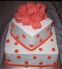 pretty present cake by coleyscakes.com