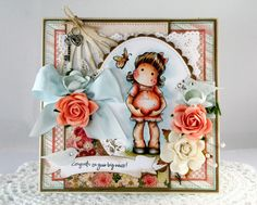 MOTHER-TO-BE TILDA  | Mother To Be - Pregnant - Expecting Tilda card Handmade Greeting Card ...