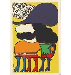 『三銃士』(1973年/アメリカ=イギリス/リチャード・レスター監督) ポスター:エドゥアルド・ムニョス・バッチ(1976年)