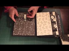 Original pinner sez: Mini Album For My BFF. Beautiful double albums with lots of ideas for tags and pockets.