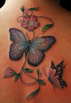 Tattoo butterfly vic