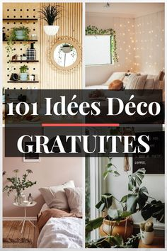 101 FREE Ideas For Your Home - myeasyidea sites Diy Home Decor Easy, Cheap Home Decor, Easy Diy, Pic Tumblr, Fashion Room, Diy Bedroom Decor, Diy Furniture, Small Spaces, Home Goods