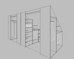 6 eye tips: Dachgauben attic ideas. Attic roof roof - 6 eye tips: Dachgauben attic ideas. Attic Closet, Attic Playroom, Attic Bedroom Closets, Attic Wardrobe, Attic Renovation, Attic Remodel, Attic Spaces, Small Spaces, Open Spaces