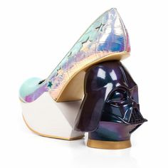Iridescent Vader | Shoes, Mid Heels | Irregular Choice | cool~ (I wouldn't choose this shoe out of all their shoes for my personal style, but def appreciate it)