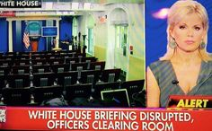 BREAKING VIDEO>>> White House Press Room Interrupted – Evacuated …Update: BOMB THREAT  June 9, 2015 by Jim Hoft