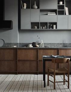 Modern kitchen in a historic building - COCO LAPINE DESIGNCOCO LAPINE DESIGN