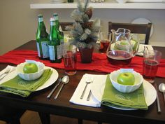 Fun Holiday Table Setting     Registry Dos and D'ohs | Young House Love