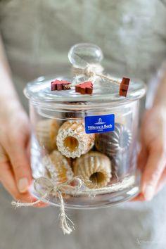 Geschenke aus der Küche: Dreierlei Mini-Gugl im Glas für das Weihnachtsfest | Alles und Anderes