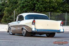 1956 Chevy Bel Air, Chevrolet Bel Air, Chevrolet Corvette, Ford, Pontiac Firebird, American Muscle Cars, Body Mods, Drag Racing, Custom Cars