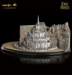 Herr der Ringe Diorama Minas Tirith  Der Herr der Ringe - Diorama - Hadesflamme - Merchandise - Onlineshop für alles was das (Fan) Herz begehrt!