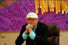 """David Hockney  """"Most artists work all the time, they do actually, especially good artists, they work all the time, what else is there to do?"""""""