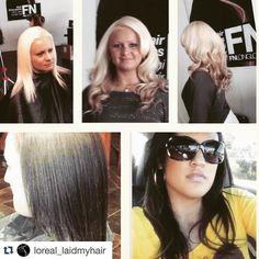 "#Repost @loreal_laidmyhair with @repostapp.  Hair by @loreal_laidmyhair  818-527-5320  Service: Fusion Micro Link Extensions Extensions: (FNLonglock Hair Extensions 18"" 200 pieces)#hairstylist #hair  #LA  #fashion #family #friends #beauty #LAhairstylist  #fbf #loreallaidmyhair  #fall #blonde #brown #extensions #fusionextensions  #microlinks  #colorist  #fiercesociety #longhair #healthyhair #stylist #booked #fallcolor #stylist  #valleystylist #northridge #reseda #woodlandhills by…"