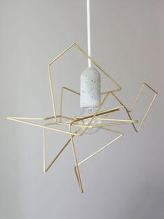 Luminária 'DIY Geometric'