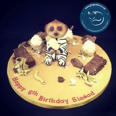 We enjoyed our safari experience with this baby Oleg cake, made by The Foxy Cake Company