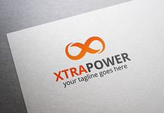 Xtra Power Logo by XpertgraphicD on Creative Market