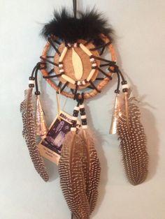 MANDELA Native American Mohawk Birch Bark by BirchartCreations on Etsy.com