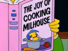 Simpsons Quotes, The Simpsons, Simpsons Funny, Joy Of Cooking, Horror, Great Tv Shows, Cool Cartoons, Bart Simpson, Funny Memes