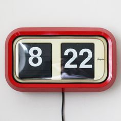 Vintage Grayson Wall Flip Clock, from Our Workshop