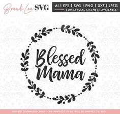 Cricut Fonts, Cricut Vinyl, Cricut Monogram, Vinyl Crafts, Vinyl Projects, Calligraphy Worksheet, Silhouette Cameo Machine, Mothers Day Crafts, Blessed Mother