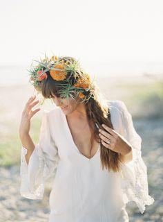 Airplant floral crown