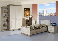 IMPERIO - Imperio est une chambre de jeunes d'un style campagnard et chic. Découvrez aussi la version pour les adultes  | Meubles Toff