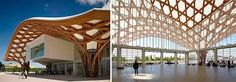 Resultado de imagen para arquitecto shigeru ban Shigeru Ban, Pompidou Metz, Pergola, Tower, Outdoor Structures, Building, Decor, Sustainable Architecture, Door Prizes
