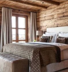 Luxury Ski Chalet, Chalet N, Lech, Austria, Austria (photo Chalet Design, House Design, Design Hotel, Cabin Homes, Log Homes, Chalet Interior, Interior Design, Chic Chalet, Lodge Style