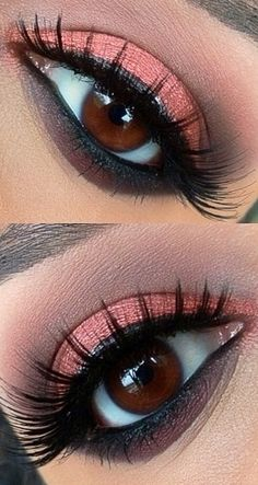 Coral for Brown Eyes.