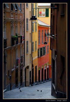 Salita del Prione - Genoa, Italy