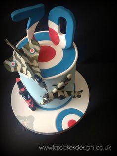 RAF cake.