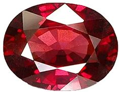 Buy PRAJAPATI GEMS Certified Unheated Untreated 7.25 Ratti 6.75 Carat A+ Quality Natural Burma Ruby Manik Loose Gemstone for Women and Men at Amazon.in